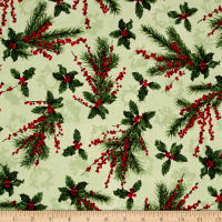 Merry, Berry & Bright Metallic Holly Jolly Radiant Sage