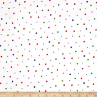 Sanja Rescek Rhyme Time Dots White