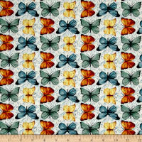 Bookshop Large Butterflies Ivory
