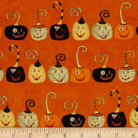 DT-K Signature Witchy Pumpkins Orange