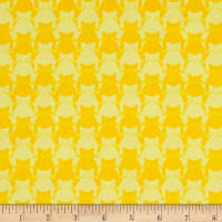 Yolanda Fundora Kitty Kitty Tonal Cat Yellow