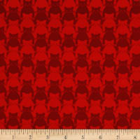 Yolanda Fundora Kitty Kitty Tonal Cat Red