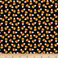 Ready Set Glow In The Dark Candy Corn Black