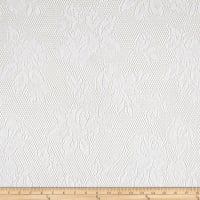 Lace Abstract White