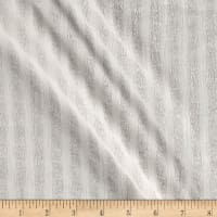 Striped Gauze White