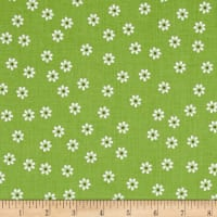 Riley Blake Sew Cherry 2 Daisy Green