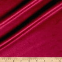 Plush Darling Velvet Burgundy