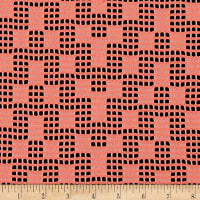 Telio Pixel Lace Double Knit Coral