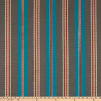 Laura & Kiran Outwest Stripes Laredo Stripe Basketweave Turquoise