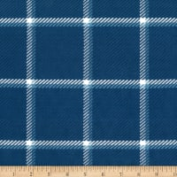 Laura & Kiran Quincy Plaid Blue