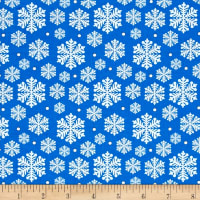 Penguin Parade Snowflake Blue