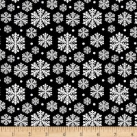 Penguin Parade Snowflake Black