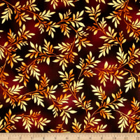 Kanvas Sun Valley Metallic Valley Fern Chocolate/Gold