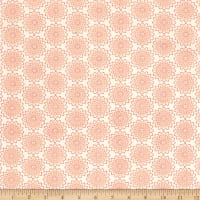 Contempo Owls And Pals Lacey Medallion Cream/Mango