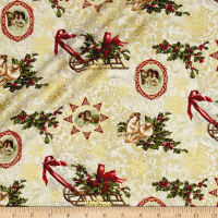 Florentine Christmas Metallic Florentine Christmas Antique