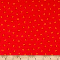 Pete The Cat Flannel Stars Red