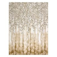Kaufman Sound Of The Woods Metallic Border Natural