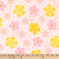 Kaufman Cozy Cotton Flannel Ditz Sorbet