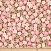 Kaufman Cozy Cotton Flannel Bunches Garden