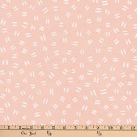 Kaufman Arroyo Linen/Cotton Blend  Dashes Peach