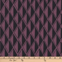 Kaufman Arroyo Linen/Cotton Blend Diamonds Plum