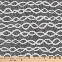Kaufman Arroyo Yarn Dye Linen/Cotton Blend Links Onyx
