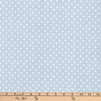 Kaufman Baby Basics Double Gauze Dot Grey
