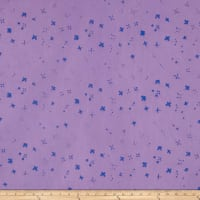 Alison Glass Handcrafted Batiks Chroma Scatter Periwinkle