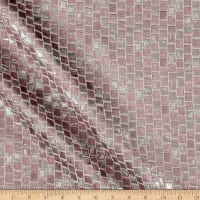 "108"" Mosaic Metallic Jacquard Rose"