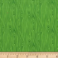 Michael Miller Tools Of The Trade Just Wood Knot Green