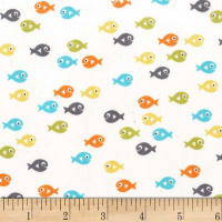 Michael Miller Guppies For Lunch Guppies Sea