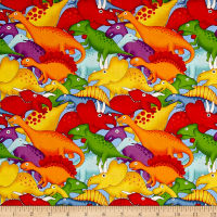 Lost World Dinosaurs Blue/Multi