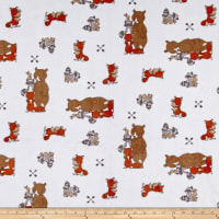 Shannon Sweet Melody Designs Minky Cuddle Besties Rust