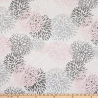 Shannon Premier Prints Minky Cuddle Blooms Blush