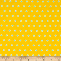 Hello Jane Flower Dot Yellow