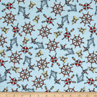 High Tide Nautical Aqua