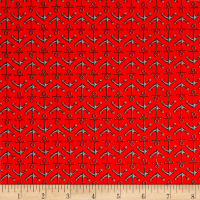 High Tide Anchors Red