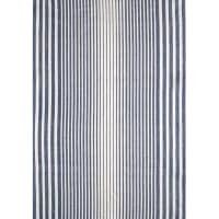 Moda Blue Plate Toweling Stripe Cream/Blue