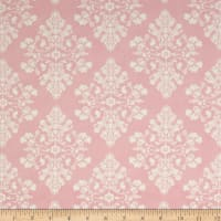 Moda Lily & Will Revisited Flannel Cottontail Toile Pink