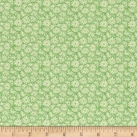 Moda 30's Playtime 2017 Posy Patch Green