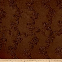 Pique Linen Viscose Brown