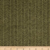 Moda Fall Impression Flannel Herringbone Juniper