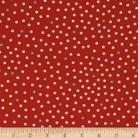 Moda Lucky Day Dots Poppy