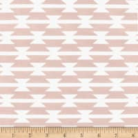 Art Gallery Arizona After Stretch Jersey Knit Tomahawk Stripe Blush
