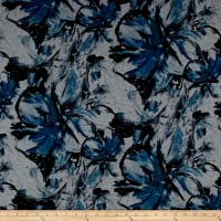 Telio Dakota Jersey Knit Floral Blue