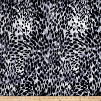 ITY knit Cheetah Print Grey/Black