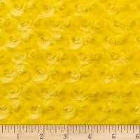Shannon Minky Luxe Cuddle Rose Canary