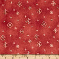 All Things Christmas Snowflake Medium Red