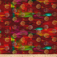 True Nature Digital Dots Red