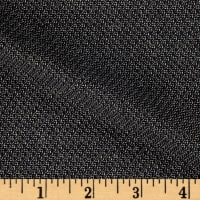 Italian Tropical Wool Suiting  Black/Taupe